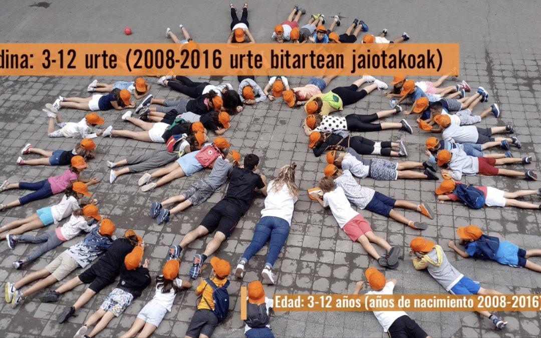 Colonias de verano de Bortziriak 2020